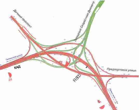 Развязка трех магистралей