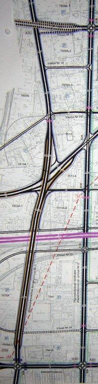 Схема проекта. Южный участок