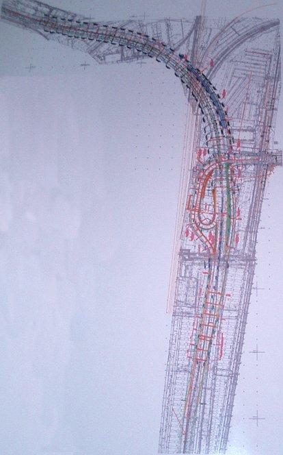 За́падный скоростно́й диа́метр (ЗСД) - частично построенная .  Схема ЗСД - Сайт общественного экологического движения...